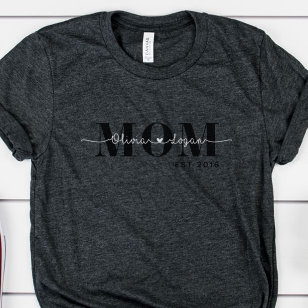 Personalized Mom Tees For 13 99 Reg Price 25 Cali Coupon